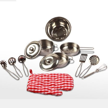 my first stainless steel cookware set by rosypearl. Black Bedroom Furniture Sets. Home Design Ideas