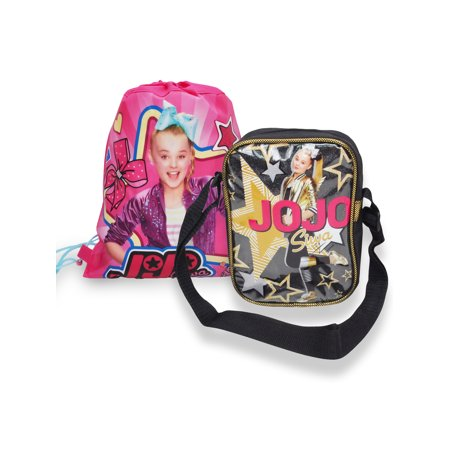 Girls JoJo Siwa Crossbody Shoulder Purse Bag & Slingbag (Bdl Bag)