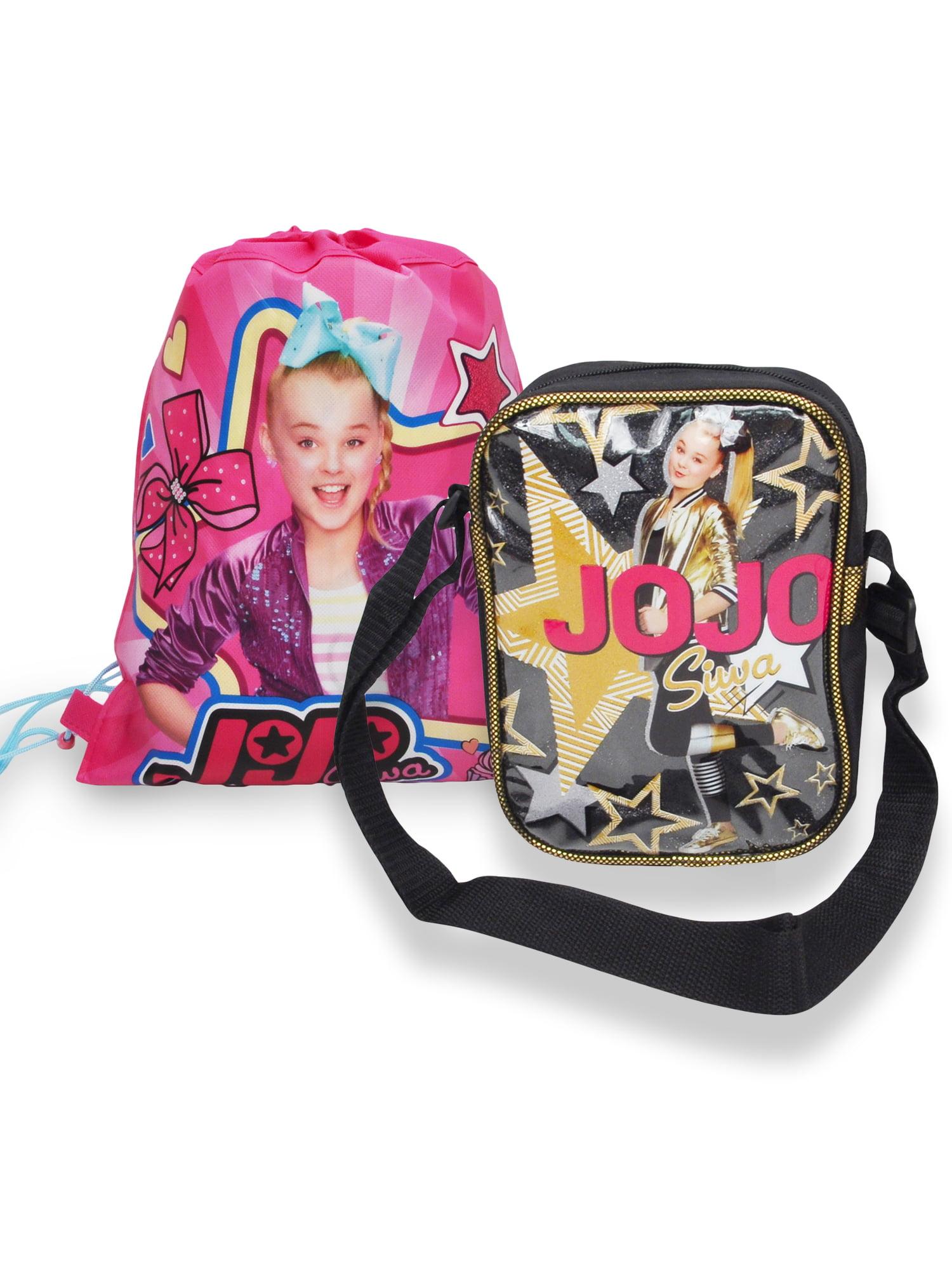 Girls JoJo Siwa Crossbody Shoulder Bag & Slingbag 2-Piece