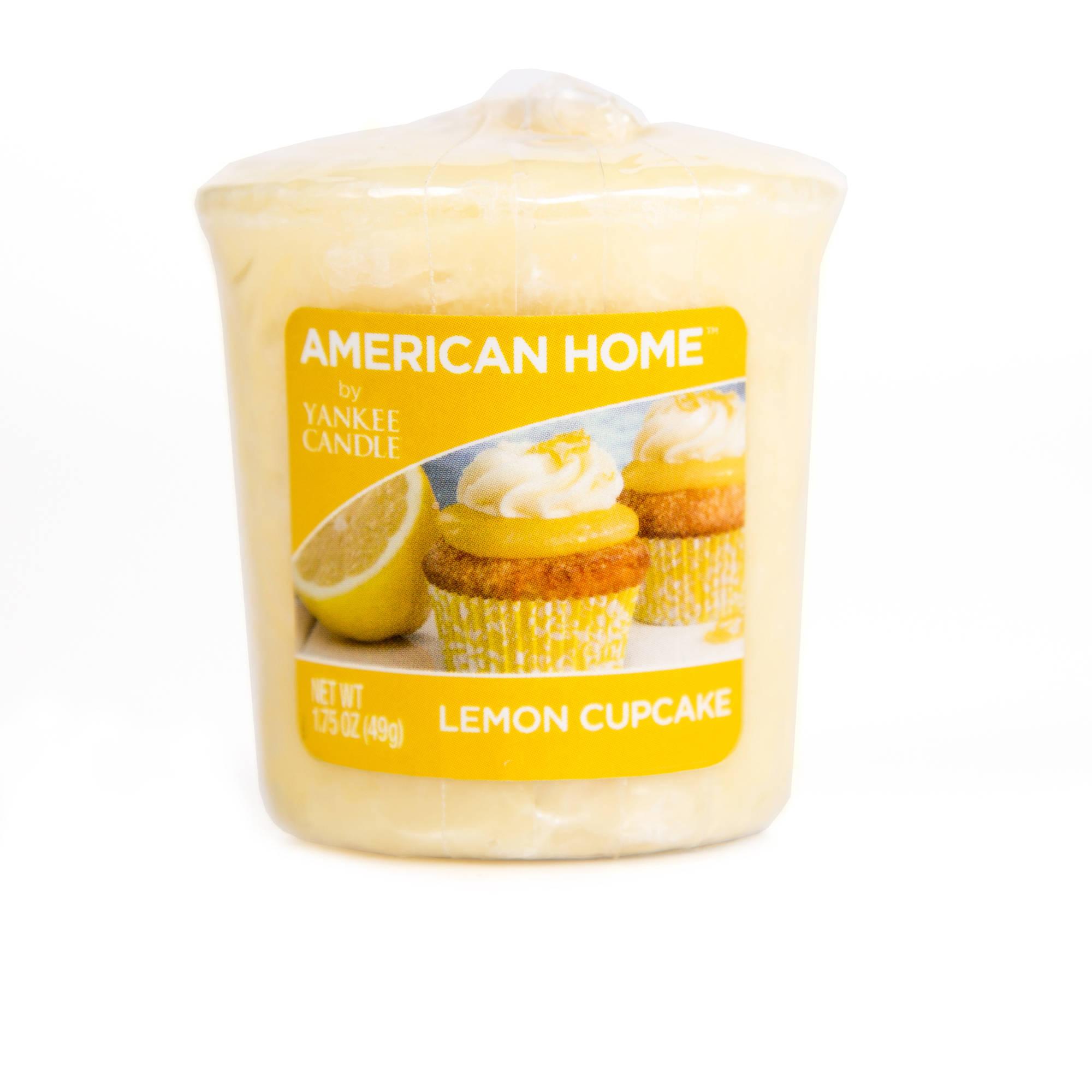 American Home by Yankee Candle Lemon Cupcake, Votive