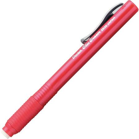 Retractable Eraser (Pentel Retractable Erasers Red )