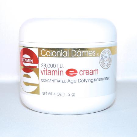 vitamine crème e 4 onces 28000 iu