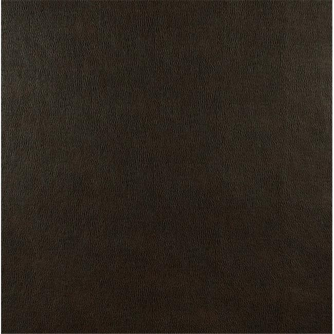 Designer Fabrics G553 54 in. Wide Brown, Upholstery Grade Recycled Leather