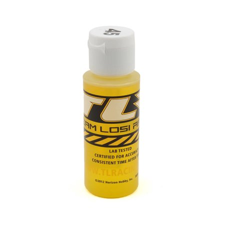 Team Losi Racing Silicone Shock Oil, 45wt, 2oz, TLR74012