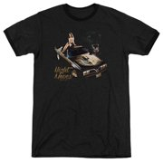 Chevy Night Moves Mens Adult Heather Ringer Shirt