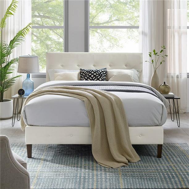 Modern Sleep Lancaster Tufted, Zinus Misty Upholstered Modern Classic Tufted Platform Bed Queen