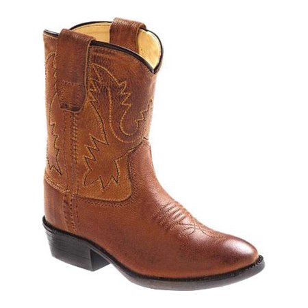 5673a2d71ba old west toddler-boys' cowboy boot tan 6 d(m) us