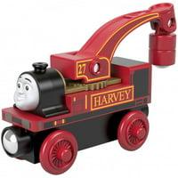 Thomas & Friends Wood Harvey Industrial Crane Engine Train