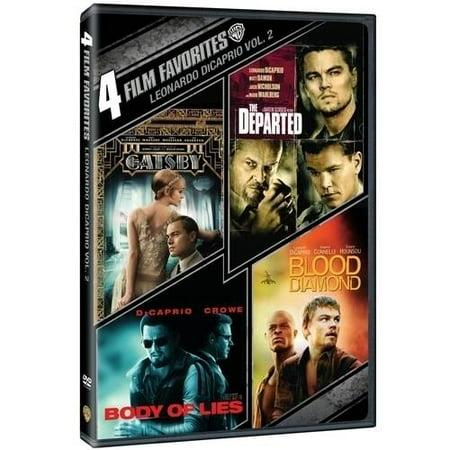 4 Film Favorites  Leonardo Dicaprio  Volume 2  Dvd   Digital Copy With Ultraviolet   Walmart Exclusive