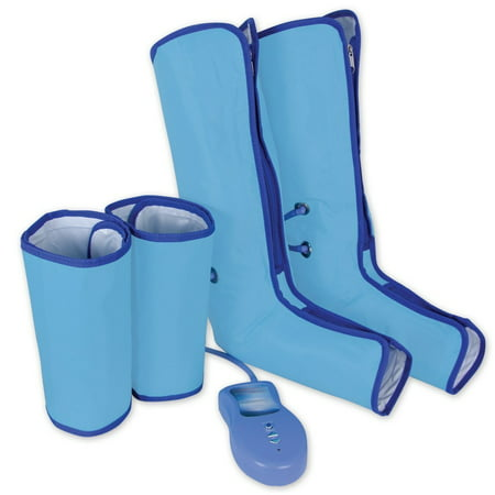 Air Compression Leg Wraps for Foot and Calf Pain Relief, Anti Swell Muscle (Pain In Heel Of Foot And Calf)