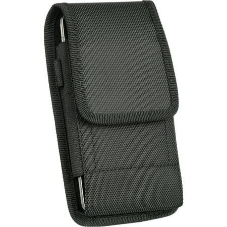 Heavy Duty Rugged EVA Canvas Carry Case For Blu Studio Energy X Plus 2, Pure XR, Vivo 5R, Vivo XL2, Vivo XL3, Vivo XL, Vivo 8, Vivo 8L, Life One