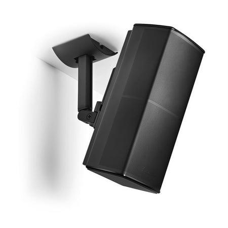 Black Outdoor Wall Bracket (Lifestyle UB-20 SERIES II Bracket, TSV Wall Ceiling Bracket Mount Support For Lifestyle UB-20 SERIES 2 II Speaker)