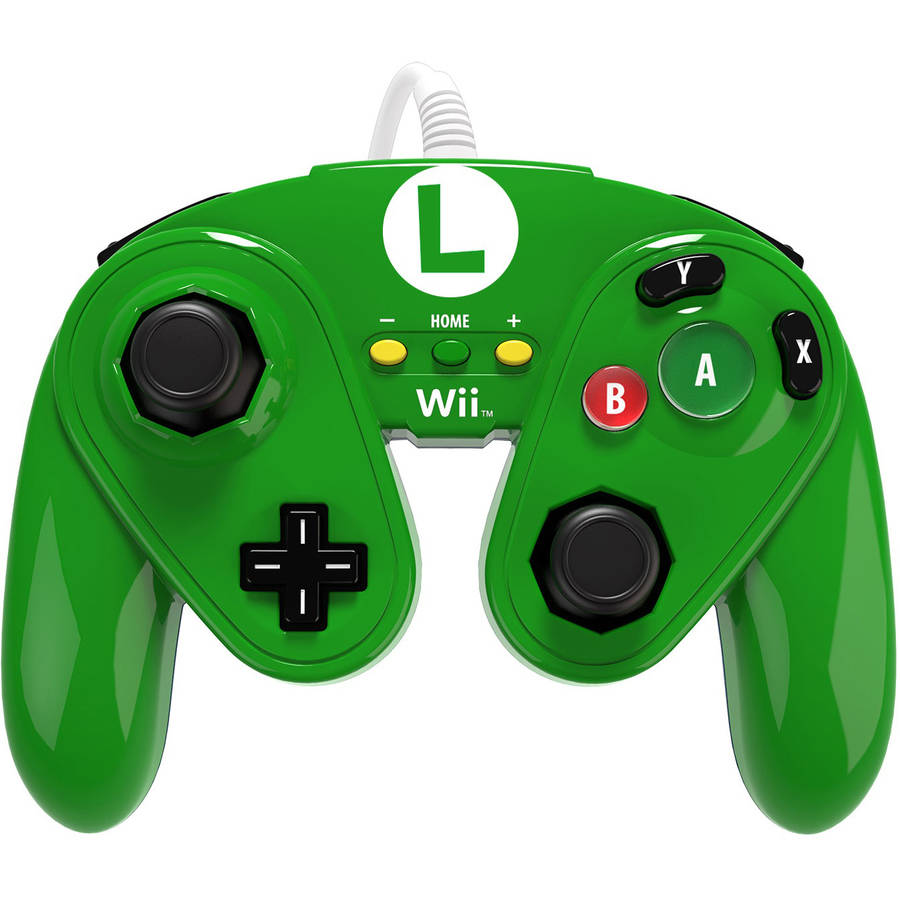 PDP Wired Fight Pad for Wii U, Luigi
