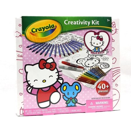 Hello Kitty Art (Crayola Hello Kitty Ultimate Art Kit Jr )