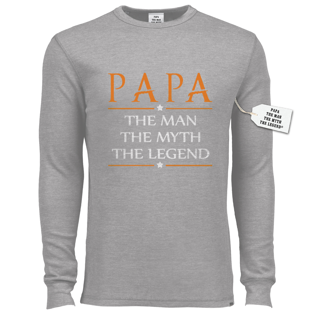 Papa The Man The Myth The Legend® Long Sleeve Thermal