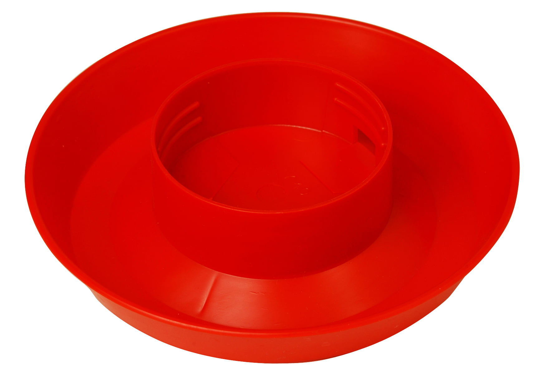 LITTLE GIANT SCREW-ON POULTRY WATERER BASE RED 1 QUART