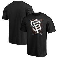 Men's Fanatics Branded Black San Francisco Giants Team Streak T-Shirt