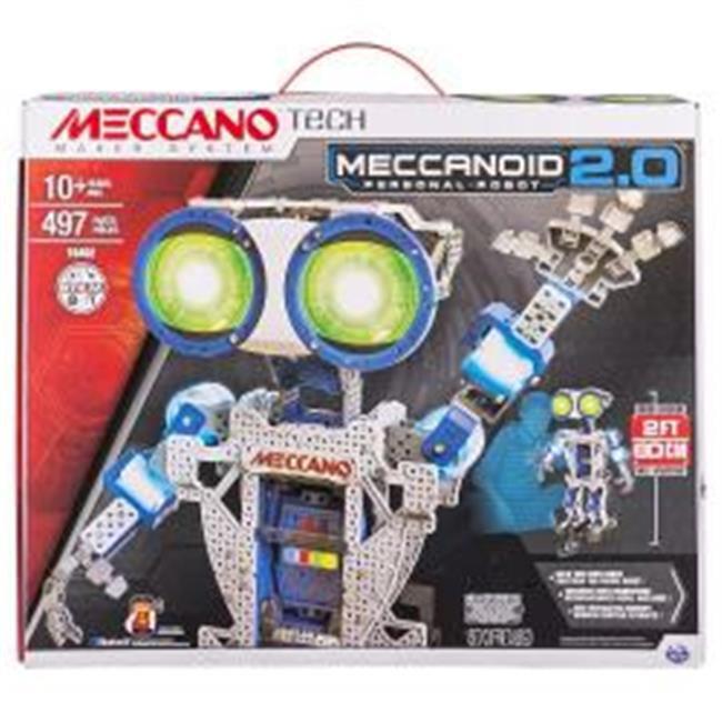 Spin Master 6028424 Meccano Meccanoid G16 Construction Set