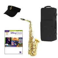 Disney Greats Alto Saxophone Pack - Includes Alto Sax w/Case & Accessories, Disney Greats Play Along Book