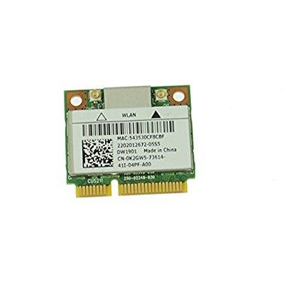 BT PCI-E Half AR5B22 New Dell DW1901 K2GW5 802.11a//b//g//n WLAN
