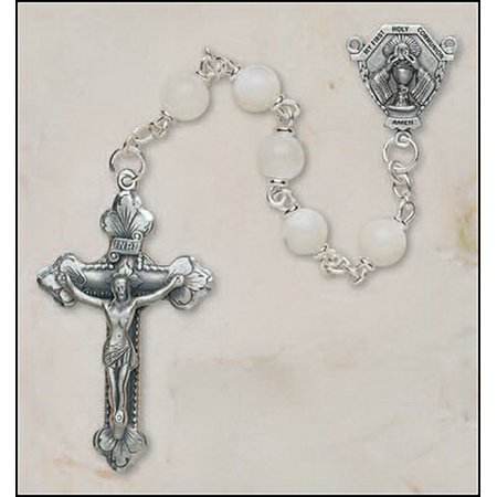 Christian Brands SO226BLP420 Boys First Communion Rosary - Communion Gift For Boy