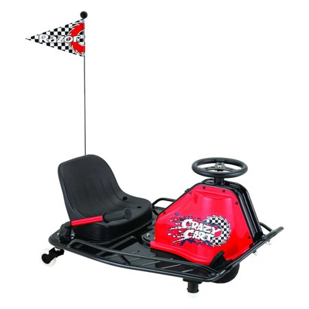 Razor 24 Volt Electric-Powered Drifting Crazy Cart - For Ages 8 and Up