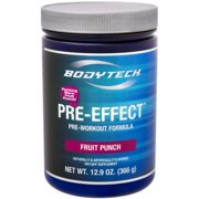 BodyTech PreEffect PreWorkout Formula, Fruit Punch (12.3 Ounce Powder)