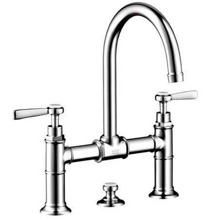 Hansgrohe Axor 16511821 Montreux Bathroom Faucet Widespread Faucet with Lever Handles, Various Colors