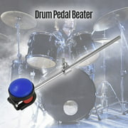 Bass Drum Beater Kick Drum Foot Pedal Beater Stainless Steel Shaft Silicone Head Accessory for Percussion Instrument Pack of 1 Dark Blue