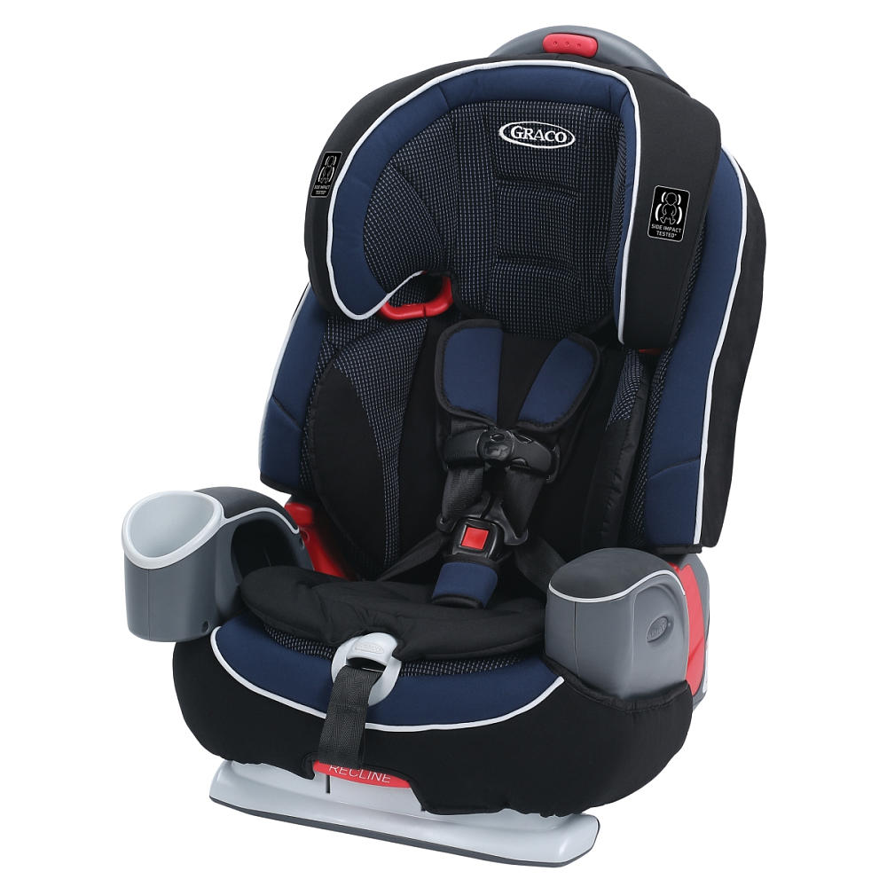 Graco Nautilus 65 LX 3-in-1 Harness, Highback, & Backless Booster Seat, Royalty