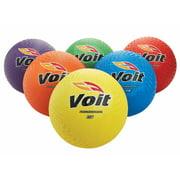 """Voit® 8 1/2"""" Playground Balls - Rainbow Pack of 6"""