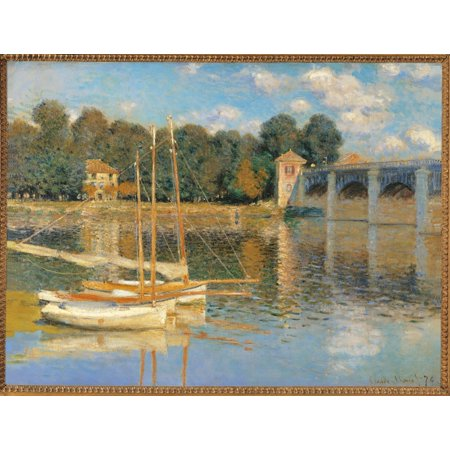 The Argenteuil Bridge Poster Print