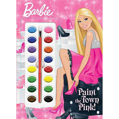 Barbie Paint the Town Pink!