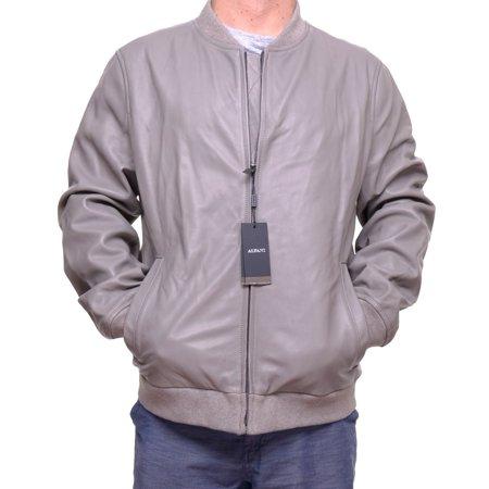 Alfani Men's Genuine Leather Jacket Size XXL ()