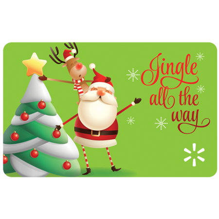 Jingle All the Way Walmart eGift Card