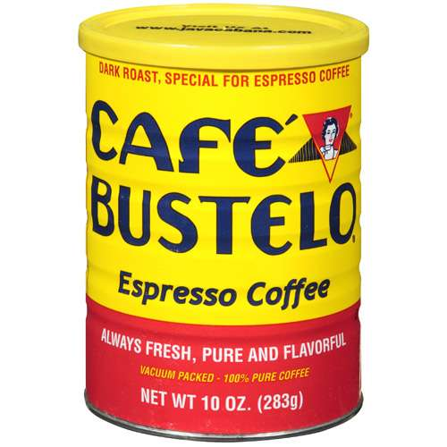 Cafe Bustelo Espresso Ground Coffee, 10 oz