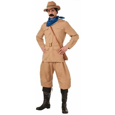 Halloween Theodore Roosevelt Adult Costume (Theodore Roosevelt Costume)