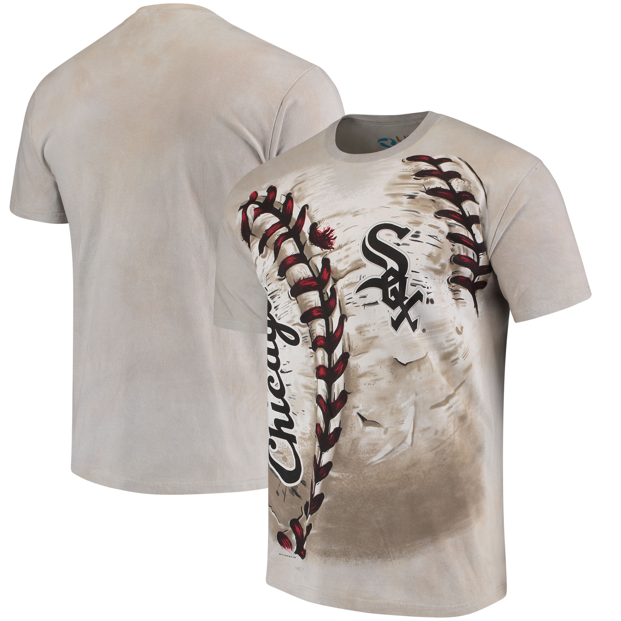 Chicago White Sox Hardball Tie-Dye T-Shirt - Cream