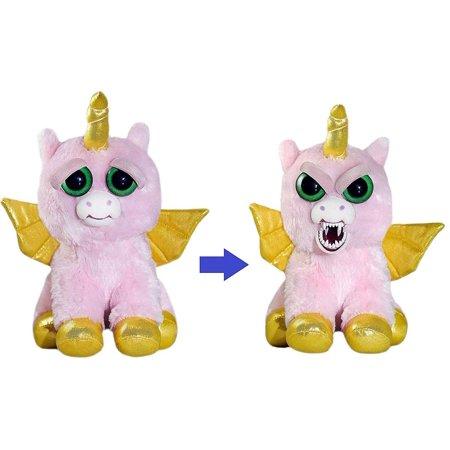Feisty Pets 8-Inch Plush - Ali Cornball the Winged Unicorn ()