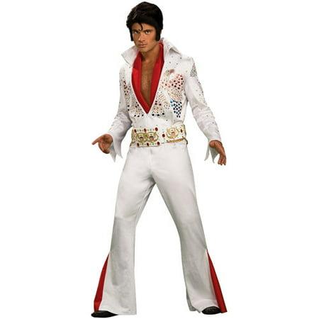 Elvis Grand Heritage Adult Halloween Costume - One Size