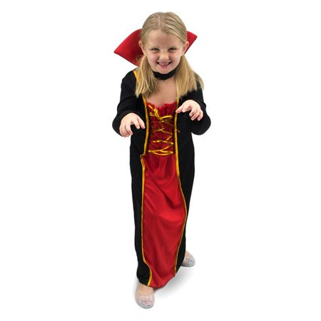 Vexing Vampire Childrens Costume, Age 5-6 for $<!---->