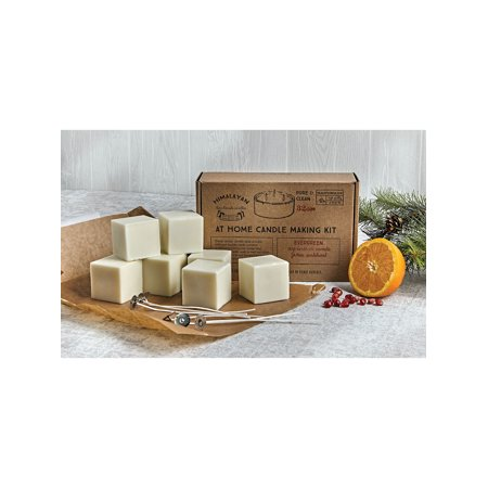 Himalayan Trading Soy Candle Making Kit - Bourbon Vanilla, Orange Grove or Evergreen Scented - Includes of Wax Cubes, Wicks and (Best Scents For Candle Making)
