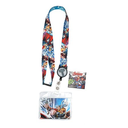 Marvel Avengers Thor Lanyard with Retractable Card Holder