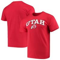 Men's Russell Athletic Red Utah Utes Core Print T-Shirt