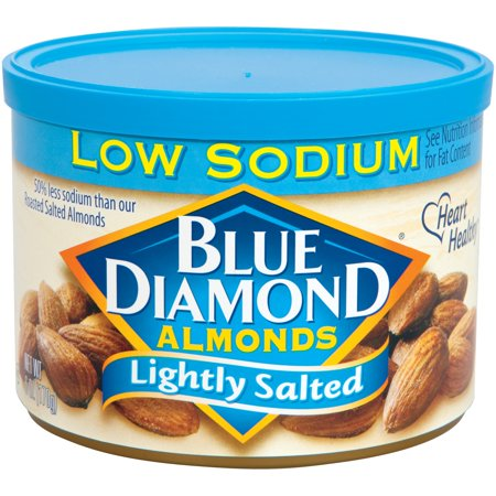 Blue Diamond Almonds Lightly Salted  6 0 Oz