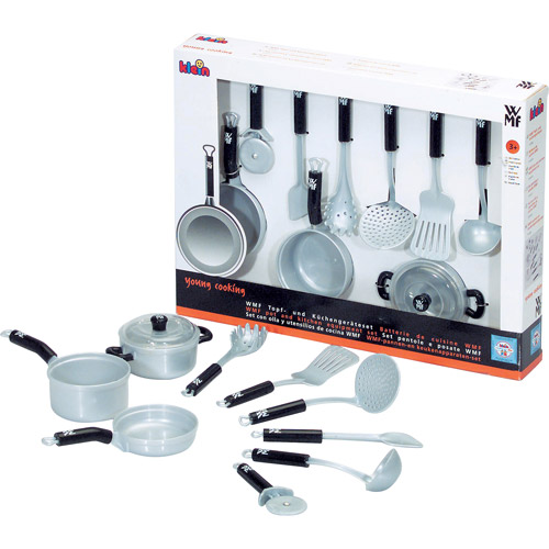Theo Klein Toy Pots and Kitchen Equipment Play Set