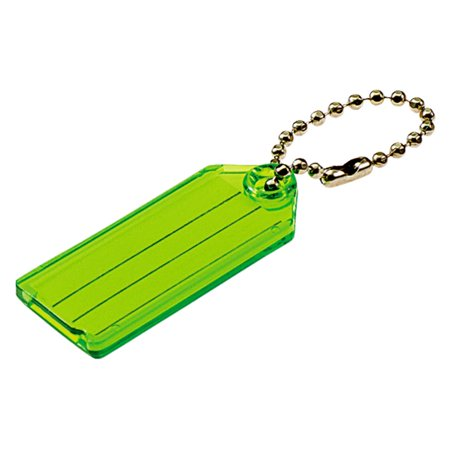 Lucky Line 2 Pack Id Key Tag with Chain