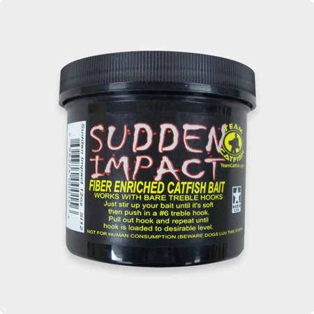 Team Catfish Sudden Impact Fiber Bait (12oz)