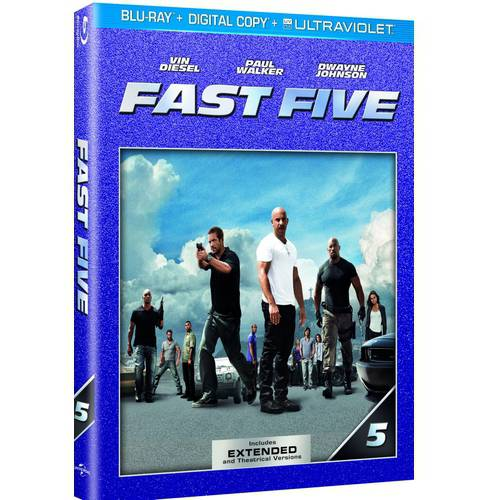 Fast Five (Blu-ray + Digital Copy + UltraViolet) (With INSTAWATCH) (Widescreen)
