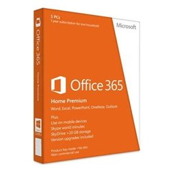 Microsoft 6GQ-00024 Office365 HomePremSubsc WinMac by Microsoft